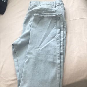 Denim - Light skinny jeans